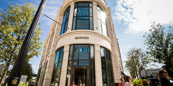Hermes of Paris Buckhead Atlanta Sinclair Construction