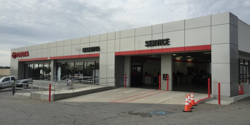 Sinclair Construction Toyota Service Ctr Concrete Ramps Stairs 090115