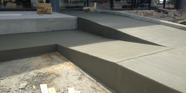 Sinclair Construction Toyota Service Ctr Concrete Ramps Stairs  (10)