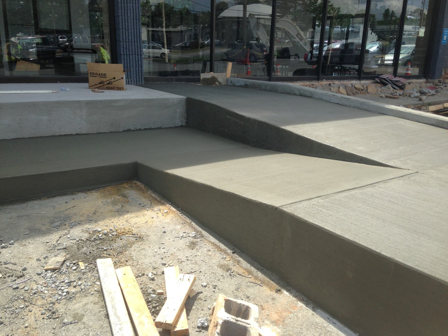 Toyota service center sinclair construction group for Concrete home builders in georgia