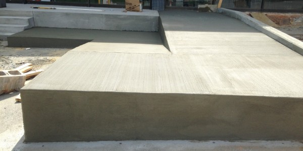 Sinclair Construction Toyota Service Ctr Concrete Ramps Stairs  (13)