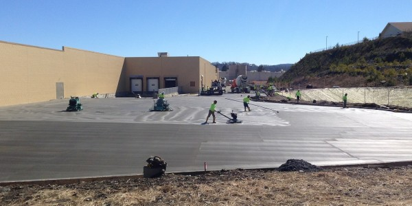 Sinclair Concrete Mass Paving Place and Finish (5)