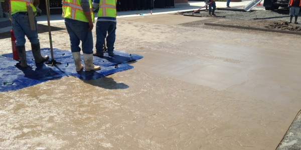 Sinclair Construction Stamped Concrete Demo Pavers (7)