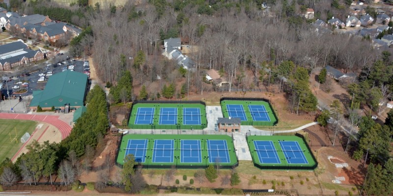 Sinclair Construction - Weslyeyan Tennis Hardscapes(1)