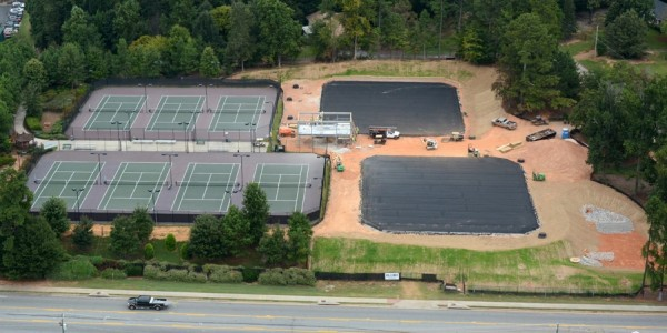Sinclair Construction - Weslyeyan Tennis Hardscapes(3)