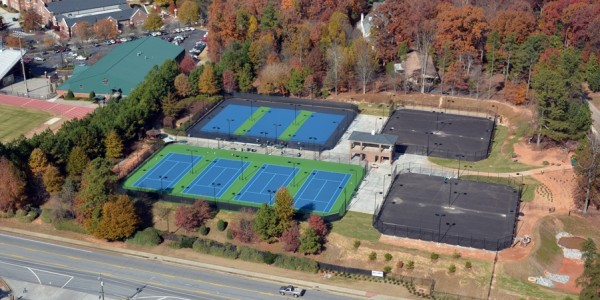 Sinclair Construction - Weslyeyan Tennis Hardscapes(5)