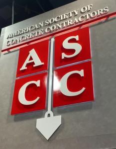 ASCC Decorative Concrete Award Stealth Sinclair Construction Group