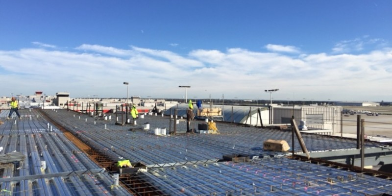 Delta Sky Club Sinclair Construction Group Concrete Construction Atlanta GA - January 2016 (2)