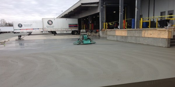 ODFL Sinclair Construction Concrete Slab on Grade Logistic Concrete Project (7)