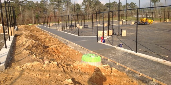 Rome Tennis  Sinclair Construction Concrete Walls Sidewalks Slabs (1)