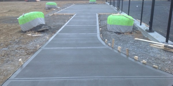 Rome Tennis  Sinclair Construction Concrete Walls Sidewalks Slabs (11)