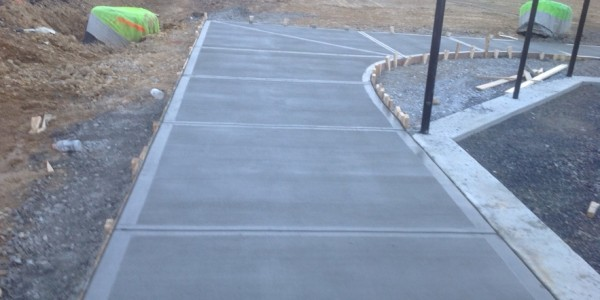 Rome Tennis  Sinclair Construction Concrete Walls Sidewalks Slabs (12)